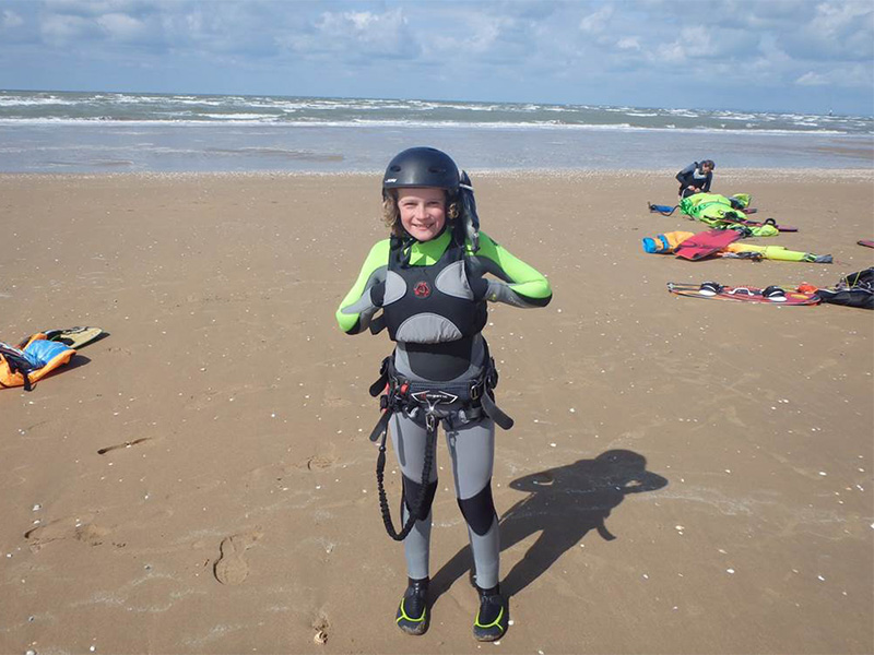le menhir Kiteschool Cabourg