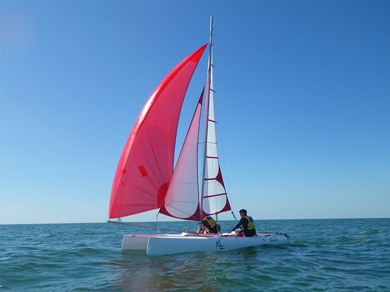 voile catamaran trouville CNTH