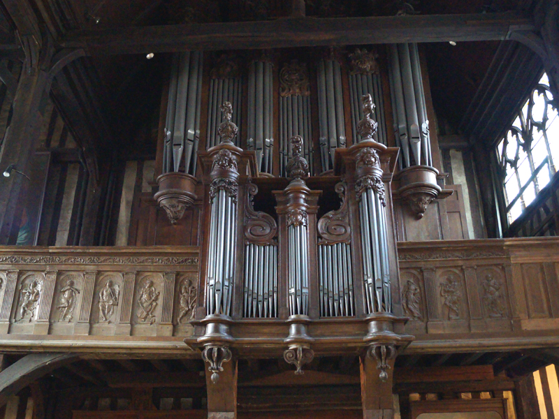 Concert d'orgue à Sainte Catherine