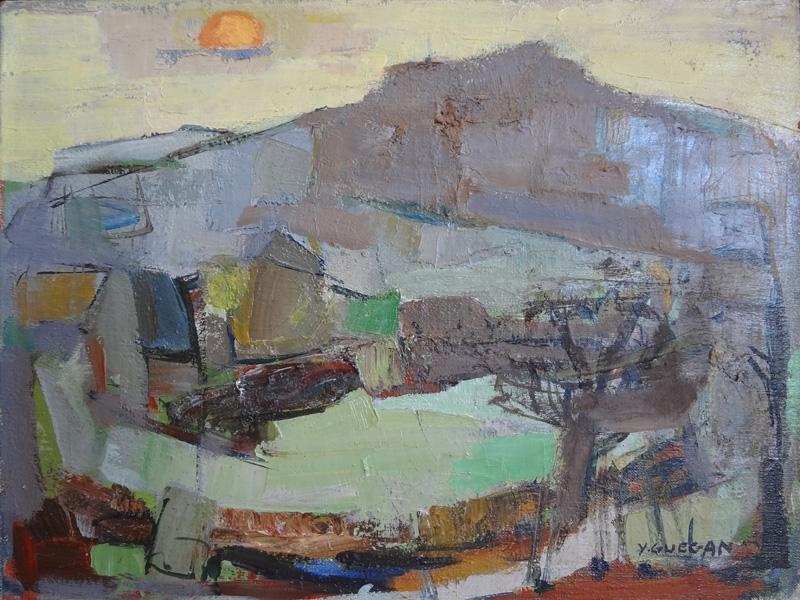 Exposition Yvonne Guégan à la Galerie Bourdette