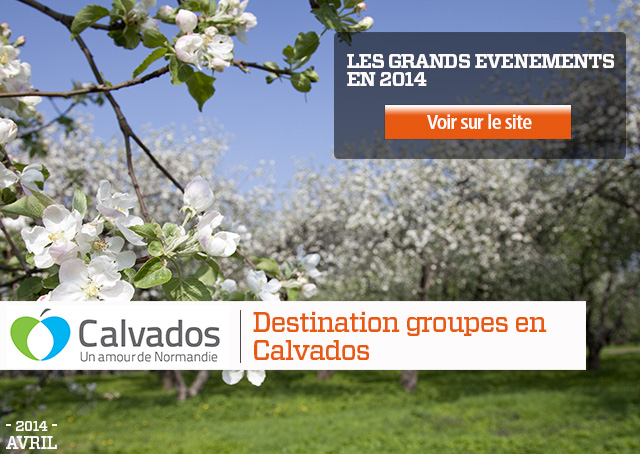Destination groupes en Calvados