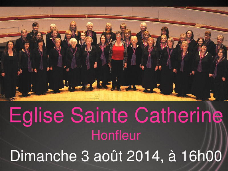 Concert des Penistone Ladies Choir