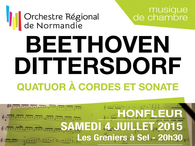 Concert Musique de Chambre  - Quatuor et quintette à cordes